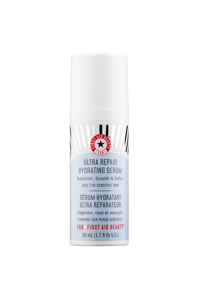 "<p><strong>First Aid Beauty</strong></p><p>sephora.com</p><p><strong>$38.00</strong></p><p><a href=""https://go.redirectingat.com?id=74968X1596630&url=https%3A%2F%2Fwww.sephora.com%2Fproduct%2Fultra-repair-hydrating-serum-P403739&sref=https%3A%2F%2Fwww.redbookmag.com%2Fbeauty%2Fg34658814%2Fface-serum%2F"" rel=""nofollow noopener"" target=""_blank"" data-ylk=""slk:Shop Now"" class=""link rapid-noclick-resp"">Shop Now</a></p><p>If you're looking for a good hydrating serum without retinol or lactic/glycolic acid (for the sensitive-skinned among us), this is the formula for you. The lightweight product sinks into your complexion to provide an immediate burst of hydration. </p>"