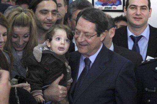 Anastasiades wins Cyprus election: TV exit polls