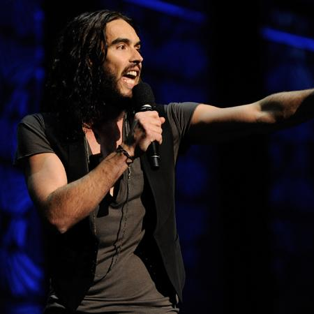 Russell Brand: I want to flirt with Theron