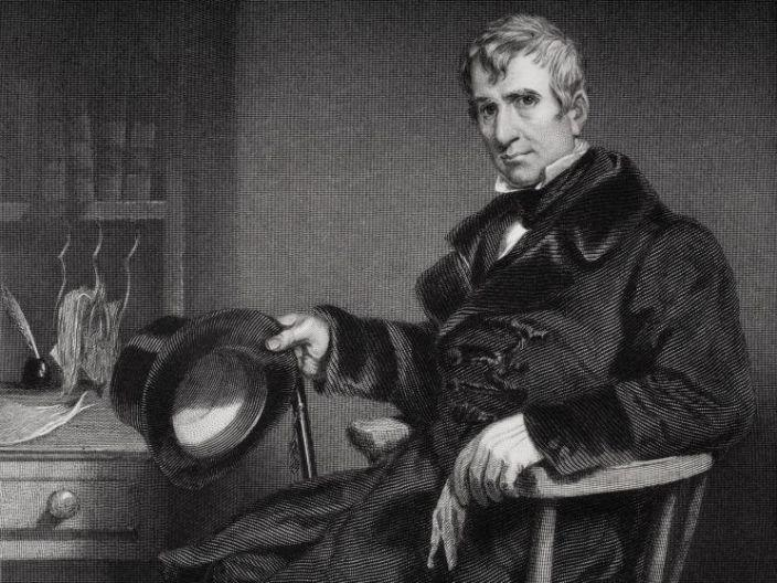 William Henry Harrison is pictured.