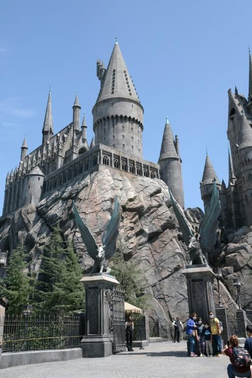 The sprawling theme park consists of immersive rides, a giant Harry Potter-themed Hogwarts castle and a tour of Universal's famous studio soundstages
