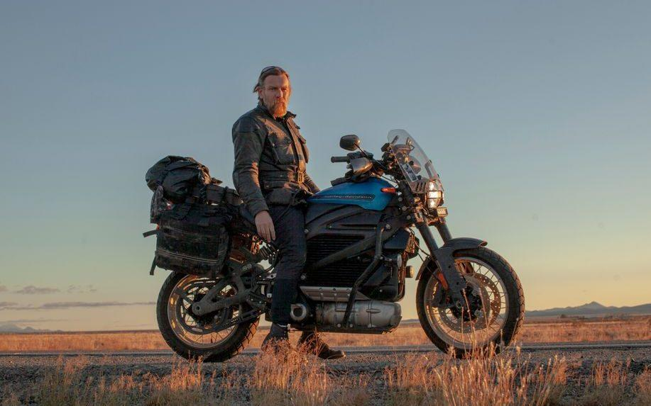 Ewan McGregor cruised from Argentina to Buenos Aires on his Harley Davidson