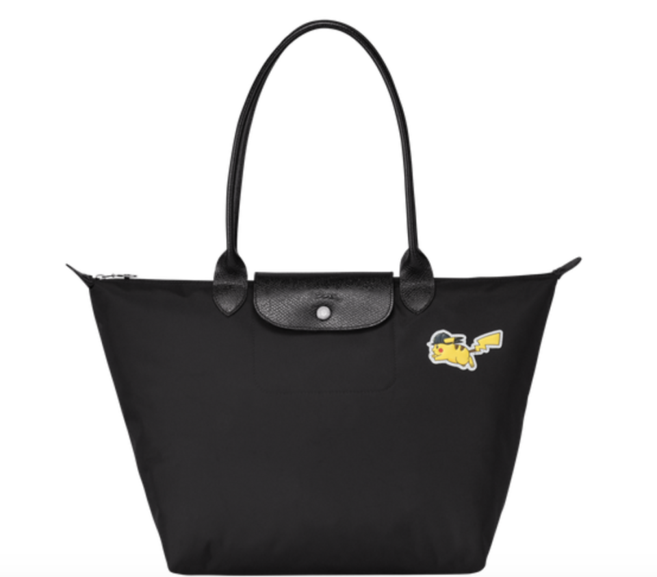 Longchamp X Pokemon large shoulder bag