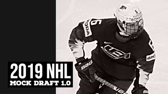 The focus is on the Stanley Cup Final, but Don Sweeney and company are also getting ready for next month's NHL Draft. Joe Haggerty looks at who the Bruins could add in his 2019 NHL Mock Draft 1.0.