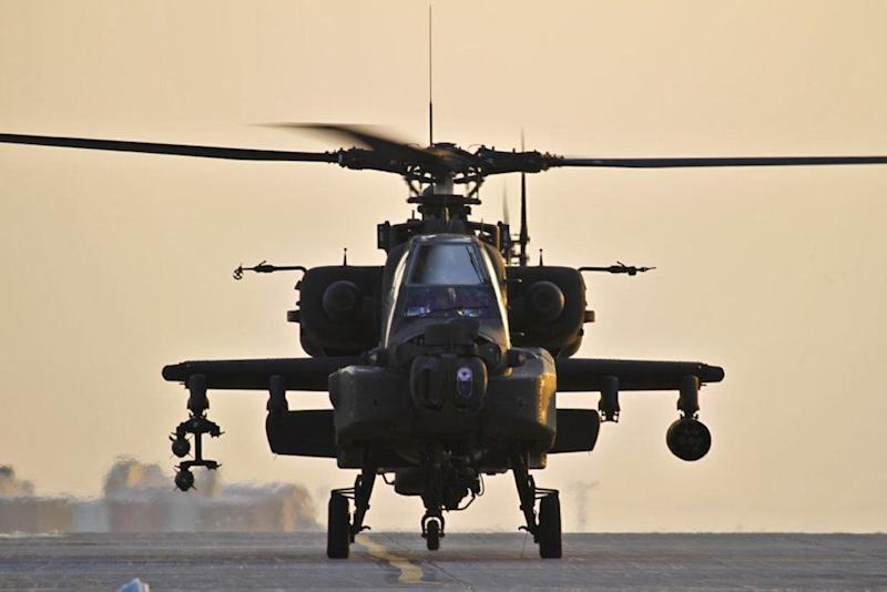 ah64 apache attack helicopter