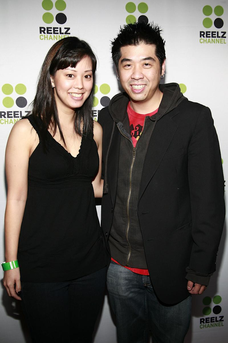 "HOLLYWOOD - OCTOBER 23: Actors Jeff Lam and Serein Wu arrive at Reelz Channel celebration of Hollywood's ""Gext Generation Directors"" at the Cinespace on October 23, 2008 in Hollywood, California. (Photo by Byron Gamarro/WireImage) *** Local Caption ***"