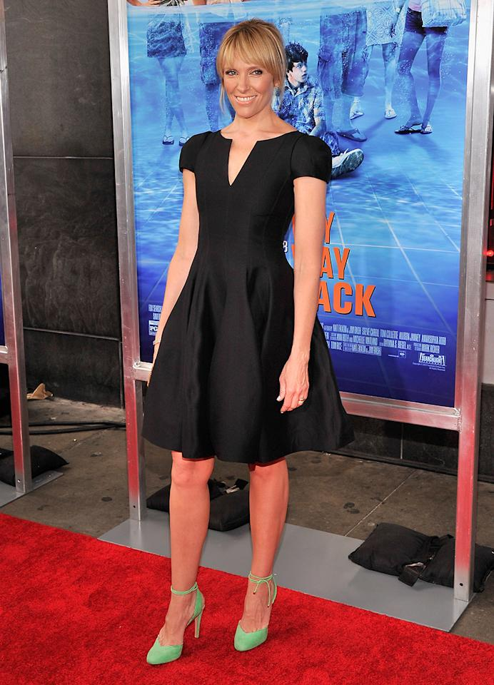 """NEW YORK, NY - JUNE 26:  Actress Toni Collette attends """"The Way, Way Back """" New York Premiere at AMC Loews Lincoln Square on June 26, 2013 in New York City.  (Photo by Stephen Lovekin/Getty Images)"""
