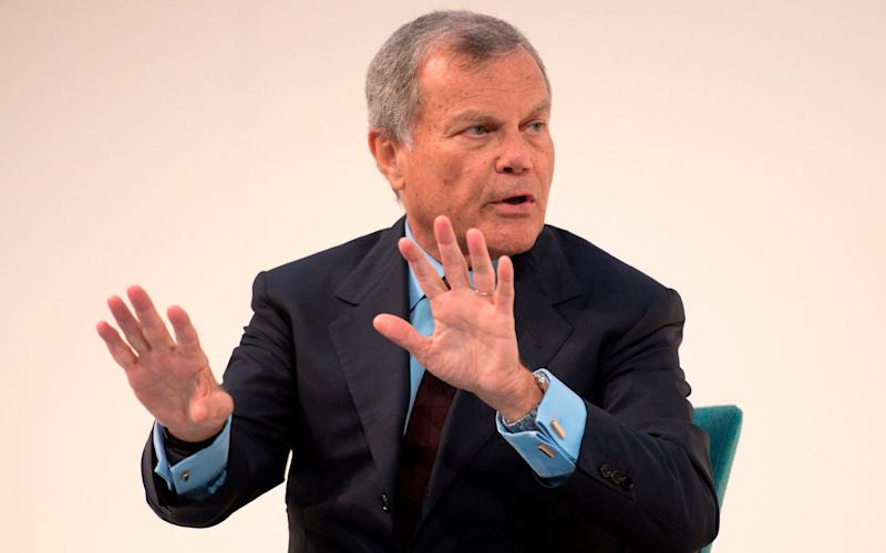 Sir Martin Sorrell resigned from WPP in a shock move announced on Saturday night - AFP