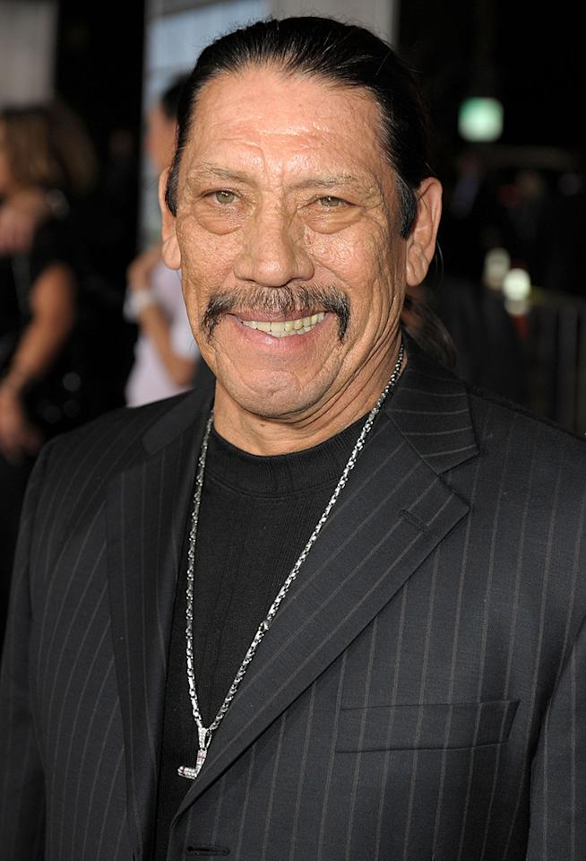 """<a href=""""http://movies.yahoo.com/movie/contributor/1800197572"""">Danny Trejo</a> at the Los Angeles premiere of <a href=""""http://movies.yahoo.com/movie/1810062520/info"""">Up in the Air</a> - 11/30/2009"""