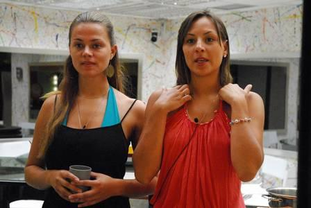 Analy e Bruna no 'BBB 7'