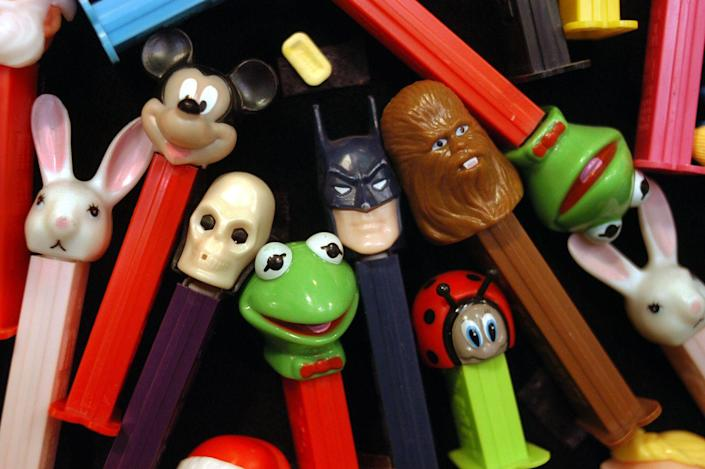 """<p>Sugar fiends will be delighted to know that even that old, candy-less PEZ dispenser might be worth something someday. In 2006, a dispenser known as the Astronaut B, created for the 1982 World's Fair made major bank, selling on eBay for $32,000. Other <a href=""""https://go.redirectingat.com?id=74968X1596630&url=http%3A%2F%2Fwww.ebay.com%2Fgds%2FTop-10-Most-Valuable-PEZ-Dispensers-%2F10000000204976547%2Fg.html&sref=https%3A%2F%2Fwww.countryliving.com%2Fshopping%2Fantiques%2Fg3141%2Fmost-valuable-toys-from-childhood%2F"""" rel=""""nofollow noopener"""" target=""""_blank"""" data-ylk=""""slk:collectible dispensers"""" class=""""link rapid-noclick-resp"""">collectible dispensers</a> include the Mickey Mouse Soft Head dispenser, the 1955 Santa Claus Head dispenser, and the PEZ gun. </p>"""
