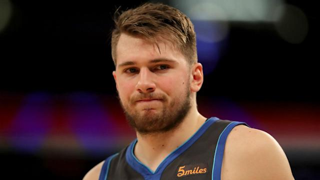 The Dallas Mavericks slipped to another defeat on Thursday and Luka Doncic was frustrated as he struggled to make an impact.