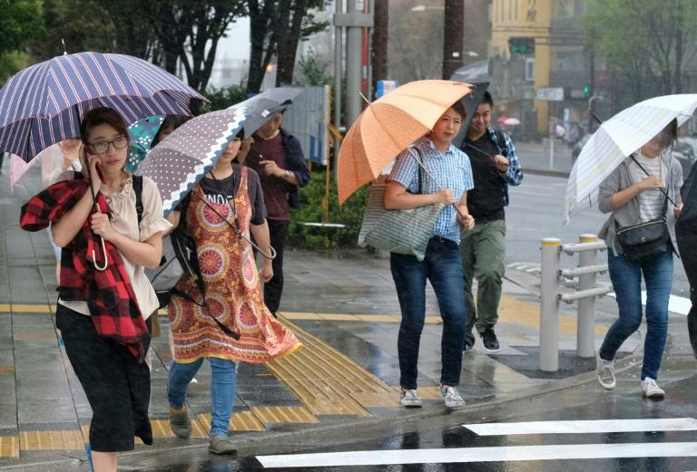 Rain and winds are expected to intensify as the typhoon approaches