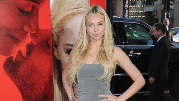 PHOTO: Corinne Olympios arrives at the Los Angeles Premiere of 'Unforgettable,' April 18, 2017, in Hollywood, Calif.  (Jon Kopaloff/FilmMagic/Getty Images )
