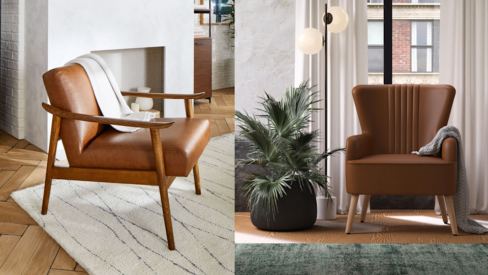 10 leather armchairs that feel like fall for your home