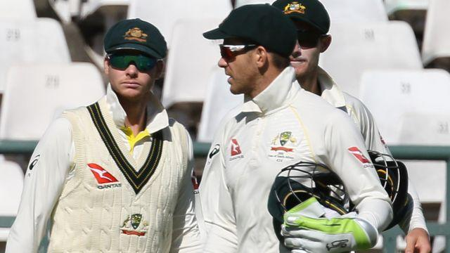 Smith and Paine. Image: Getty