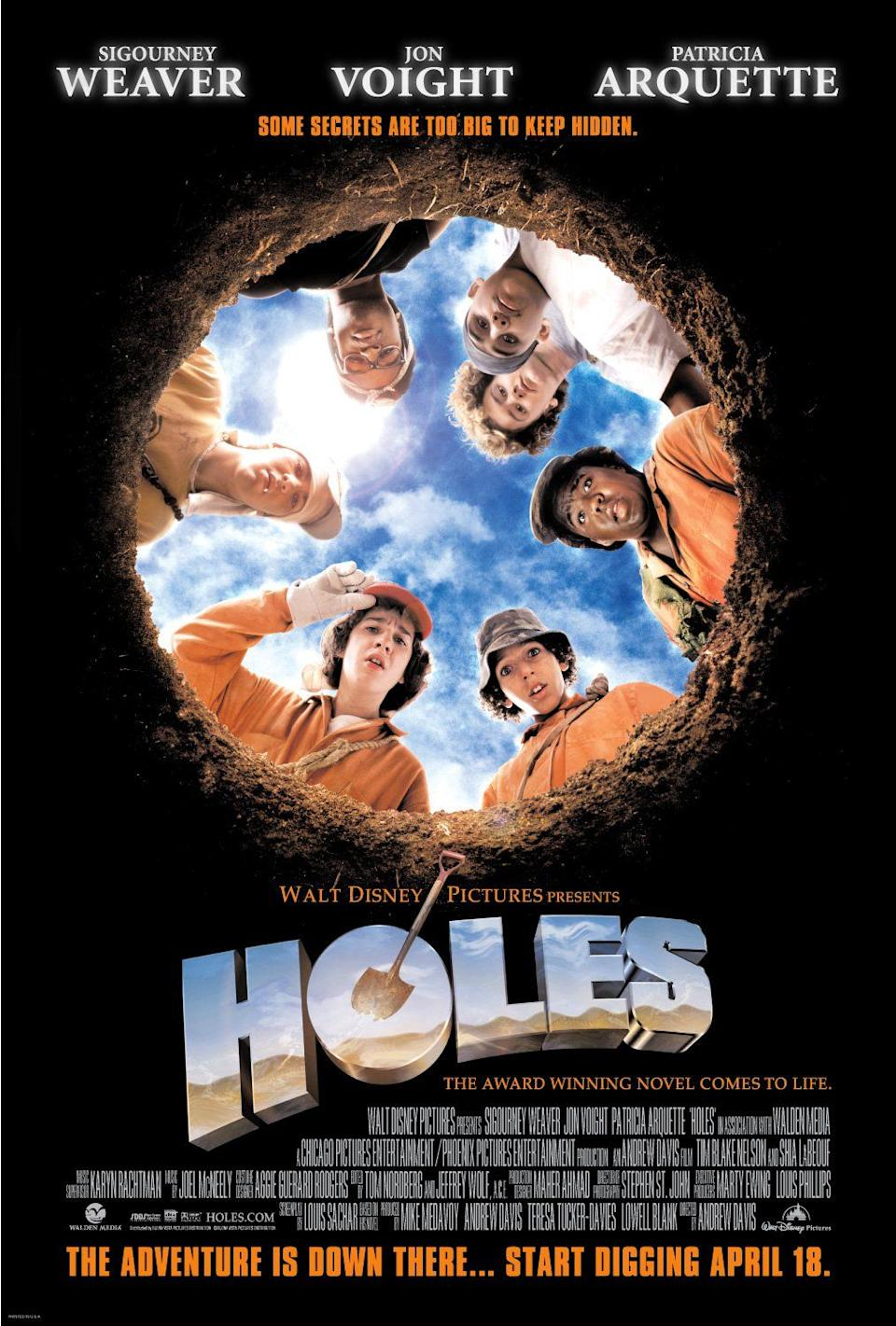 A poster for Disney's Holes. (Disney)