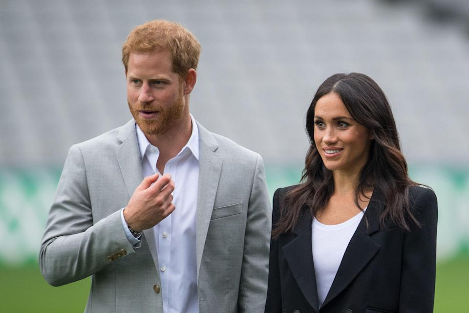 Harry is very protective of Meghan (PA)