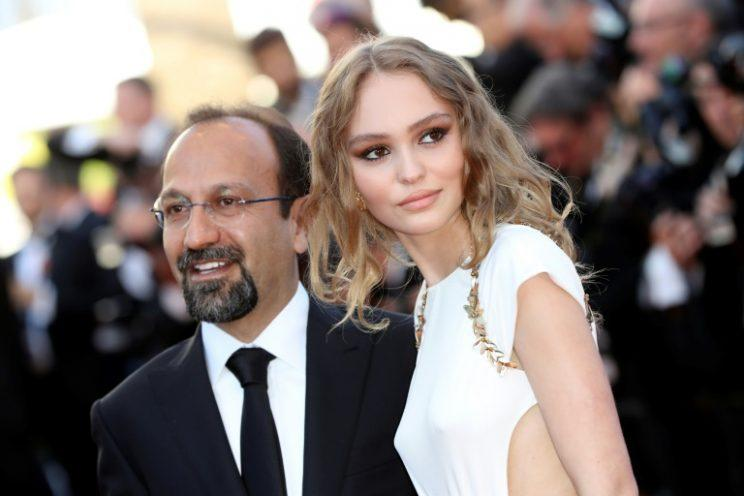 Farhadi... has finally accepted his Oscar for Best Foreign Language Film - Credit: AFP