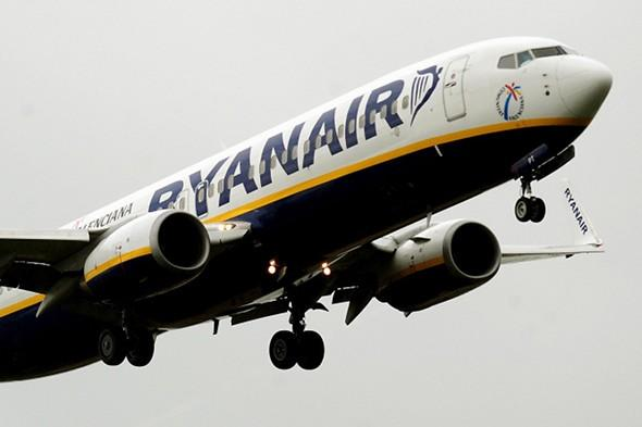 Man who took hunting knife and air pistol on Ryanair flight jailed