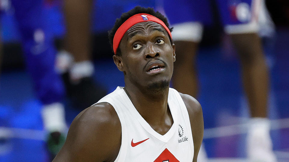 Pascal Siakam has taken some positive strides over the past two games. (Photo by Tim Nwachukwu/Getty Images)