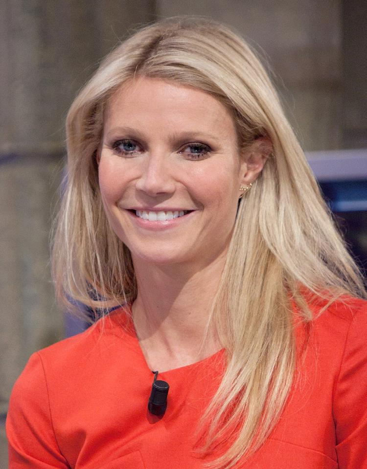 MADRID, SPAIN - OCTOBER 29:  Actress Gwyneth Paltrow attends 'El Hormiguero' Tv Show at Vertice Studios on October 29, 2012 in Madrid, Spain.  (Photo by Pablo Blazquez Dominguez/WireImage)