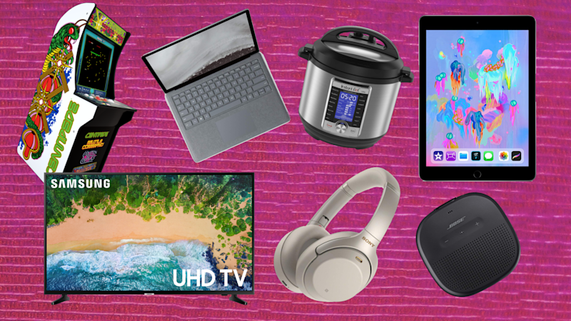 Save on Apple, Bose, Sony, Instant Pot, and more this weekend. (Photo: Amazon/Walmart/Yahoo Lifestyle)