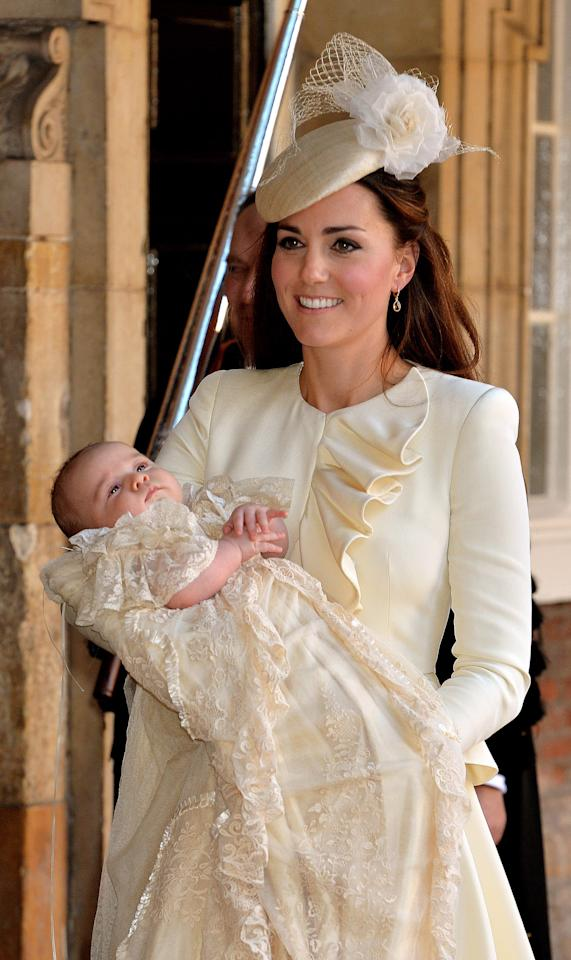 Why The Intricate Lace Christening Gown Prince Louis Just Wore Might