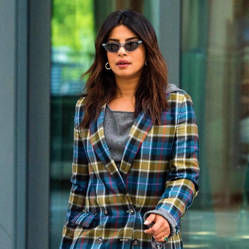 Priyanka Chopra Arrives For Meghan Markle's Wedding In