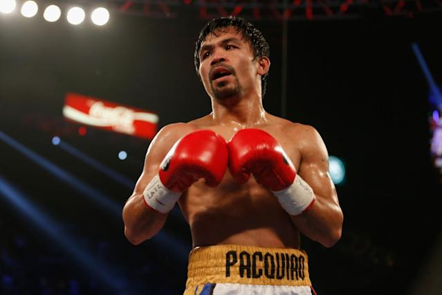 Manny Pacquiao vs. Amir Khan is off the table for now.