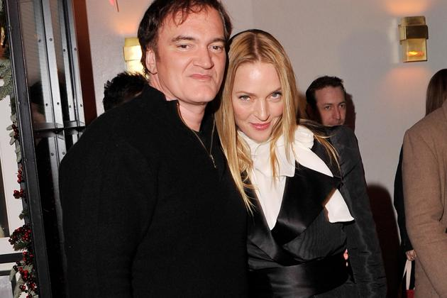 Quentin Tarantino und seine Fuß-Muse Uma Thurman (Bild: Getty Images)