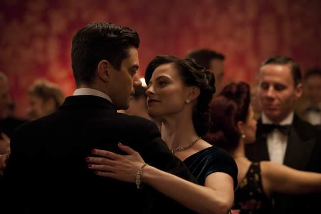 Lara Pulver and Dominic Cooper in 'Fleming: The Man Who Would Be Bond' on BBC America -- ECOSSE/BBC America