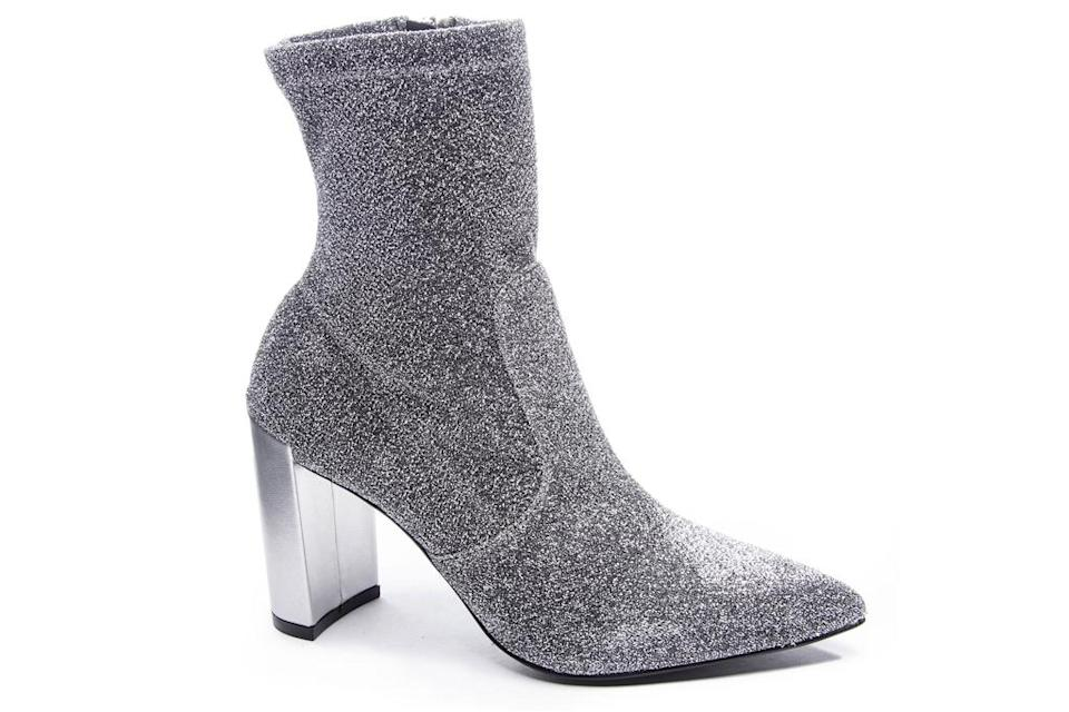 sock boots, gray, chinese laundry