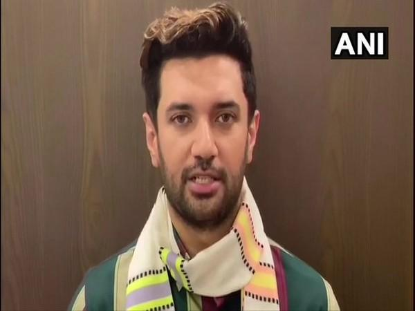 LJP Chief Chirag Paswan (File Photo/ANI)