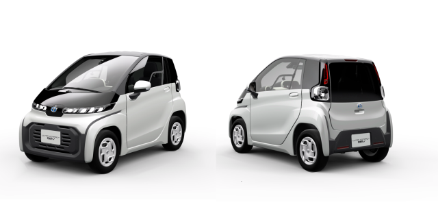 Ultra-compact EVs from Toyota.