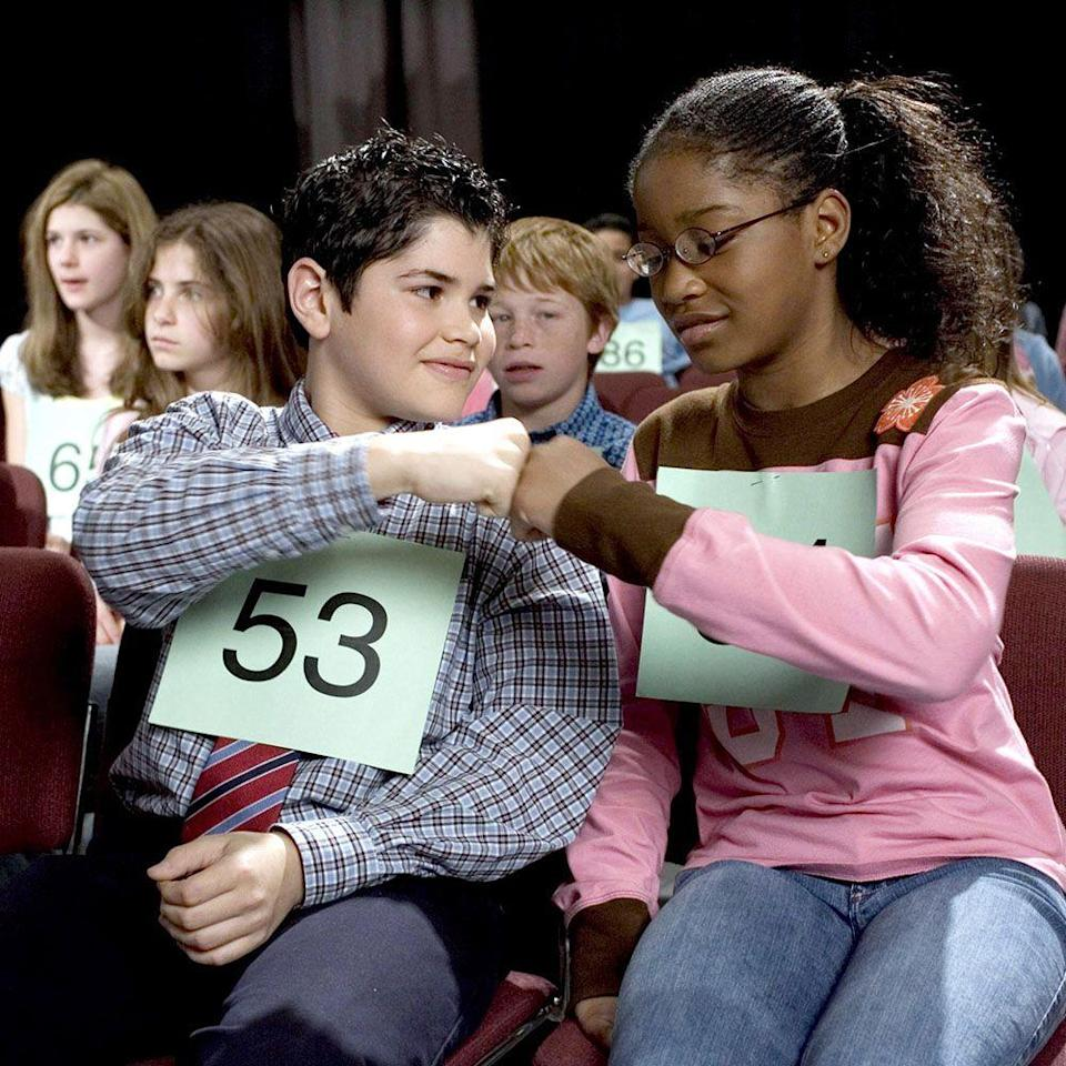 "<p>When seventh-grader Akeelah Anderson (Keke Palmer) decides to compete in the Scripps National Spelling Bee, she's sent on a whirlwind journey filled with dictionaries and suspense. Angela Bassett and Laurence Fishburne give moving performances as Akeelah's mother and spelling coach, respectively, and the role of Akeelah led to Keke Palmer's breakout stardom, deservedly. As an added bonus, your whole family will be well versed in spelling bee culture and terminology by the time the credits roll.</p><p><a class=""link rapid-noclick-resp"" href=""https://go.redirectingat.com?id=74968X1596630&url=https%3A%2F%2Fwww.hulu.com%2Fwatch%2F99fd57eb-249b-478d-b68b-1e22c7e93363&sref=https%3A%2F%2Fwww.harpersbazaar.com%2Fculture%2Ffilm-tv%2Fg33002202%2Fbest-family-movies%2F"" rel=""nofollow noopener"" target=""_blank"" data-ylk=""slk:Watch Now"">Watch Now</a></p>"