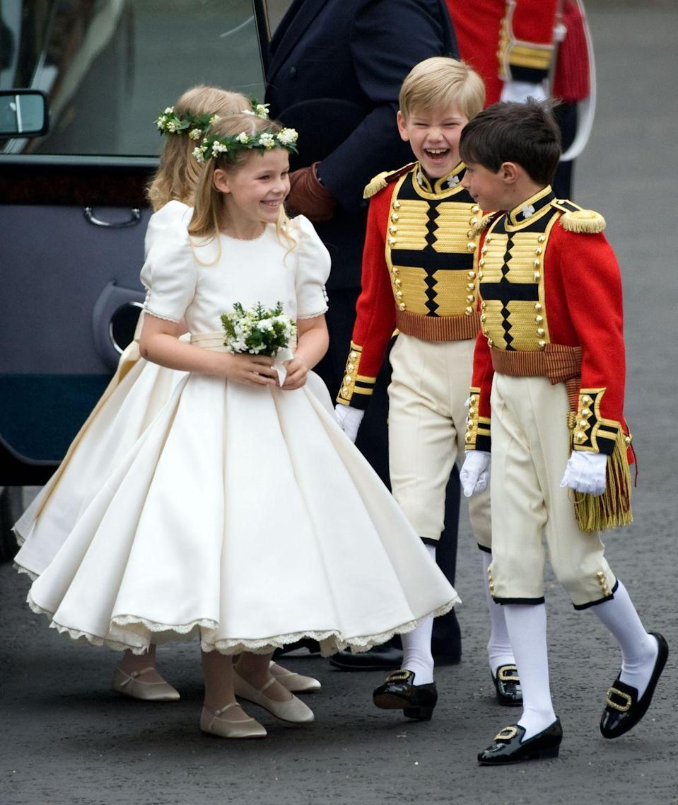 <p>Born in 2002, Tom is the son of Charles Pettifer and Tiggy Legge-Bourke. His mother used to nanny Prince William and Prince Harry and was a Personal Assistant to Prince Charles between 1993 and 1999.</p><p>He made quite the debut as a page boy at Prince William and Kate Middleton's wedding in 2011, charming everyone with his cheshire cat grin before heading into Westminster Abbey for the ceremony.<br></p>