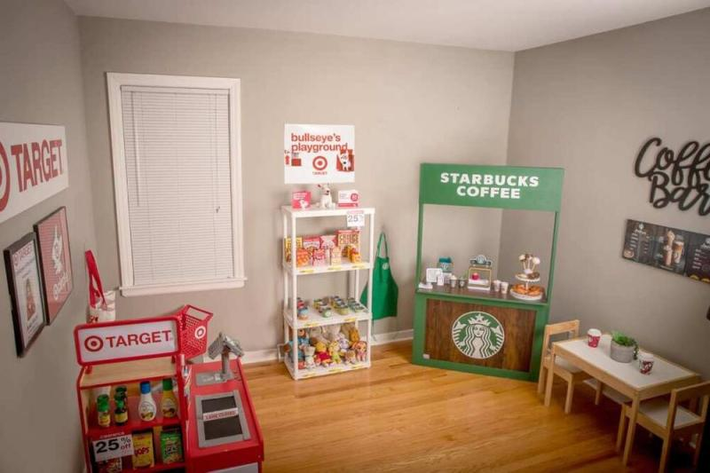 Renèe Doby-Becht's daughter Ariah's playroom | Brigette Doby