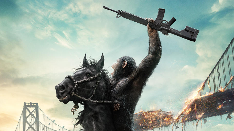 'Dawn of the Planet of the Apes'. (Credit: 20th Century Studios)
