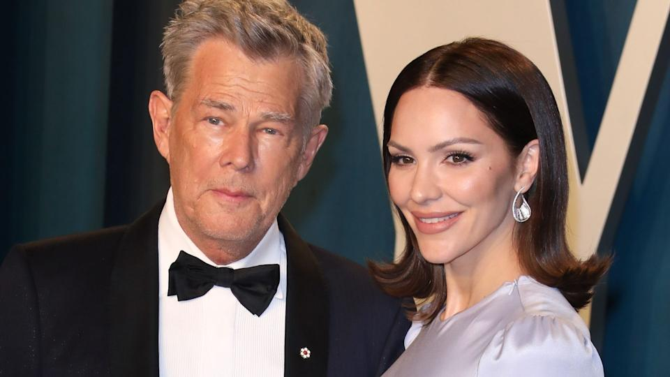 Katharine McPhee shut down claims she's only with her husband, David Foster, for his money. (Image via Getty Images)