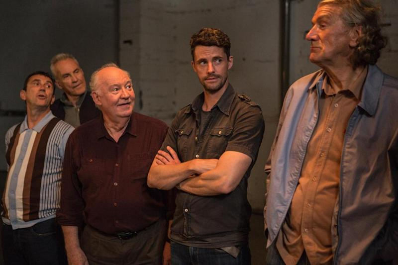 'Diamond wheezers': Phil Daniels, Larry Lamb, David Calder, Matthew Goode and Clive Russell