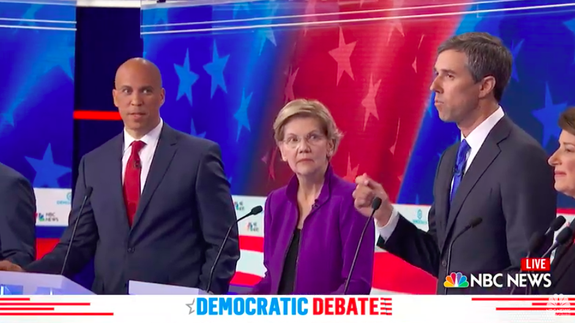 Democratic Debate Memes and Reactions from Twitter