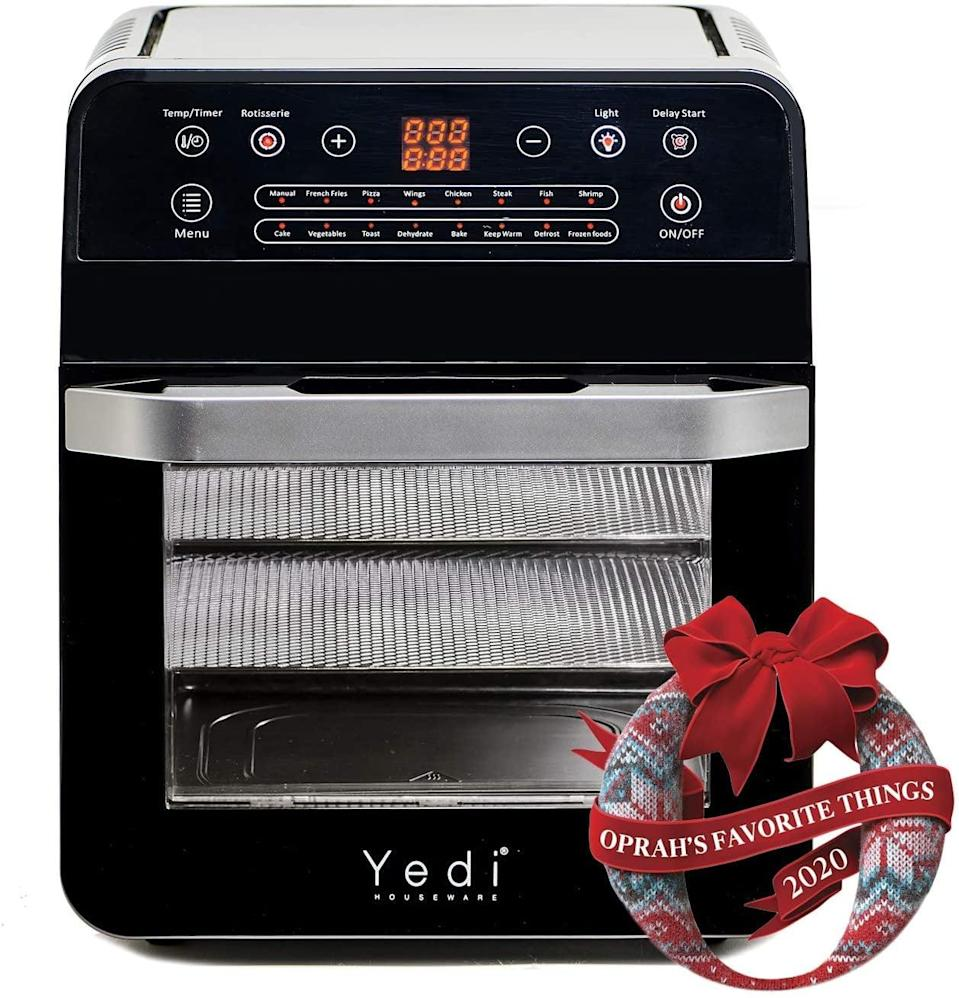 <p>This <span>Yedi Total Package Air Fryer Oven XL</span> ($149) will be a game changer.</p>