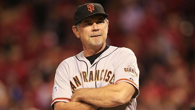 Bochy, who has a history of heart-related issues, will miss San Francisco's next two games.
