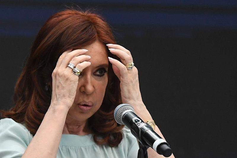 Former Argentina president Cristina Kirchner, now a senator, is accused of accepting millions of dollars in bribes