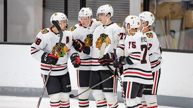 Takeaways and observations: Blackhawks rout Wild to finish 7th place in Traverse City