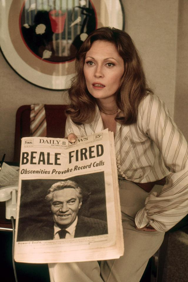 """Faye Dunaway in """"<a href=""""http://movies.yahoo.com/movie/network/"""">Network</a>"""" (1976) is certainly one of the coldest bitches of all time, but is hilarious to watch in her mannerisms, Paddy Chayefsky's dialogue, and her cool toying with William Holden's love and marriage. I thought Dunaway was equally effective in """"Mommie Dearest"""" (1981). She was a better Joan Crawford than even Joan Crawford. That film rips me up. Dunaway was priceless because she was not looking to gain the audience's love or sympathy in any way. Actually, it works that way better. I don't think that a lot of the actresses today have the guts to approach what she did, except for Theron in some of her recent efforts."""