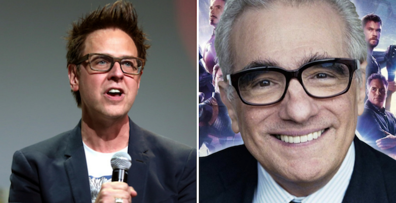 James Gunn Martin Scorsese Marvel Cinematic Universe cinema comic book movies