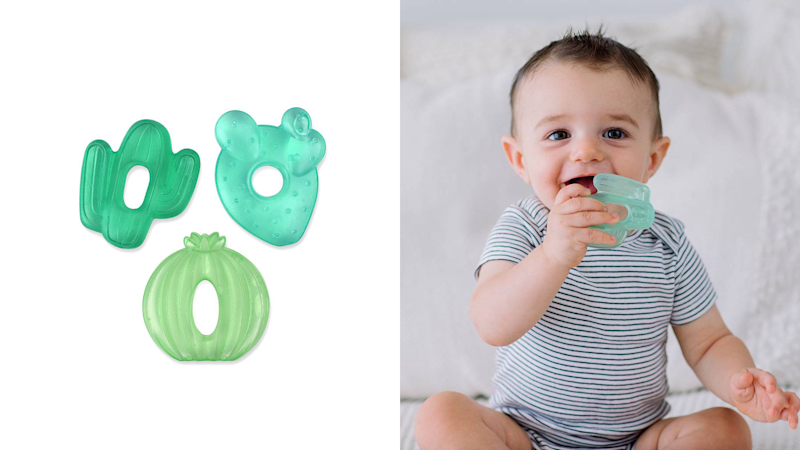 Best gifts for babies: Cactus teethers to soothe their gums