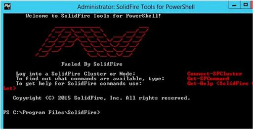 SolidFire Announces General Availability of PowerShell Tools
